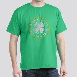 Quinn Irish Drinking Team Dark T-Shirt