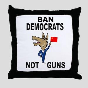 GO AHEAD Throw Pillow