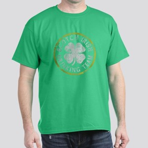 Scotch Irish Drinking Team Dark T-Shirt