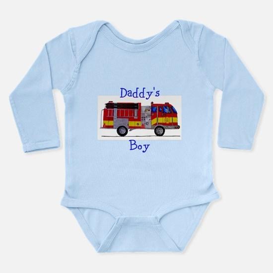 Daddy's Boy Fireman Body Suit