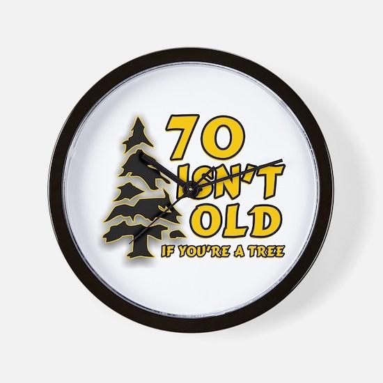 70 isn't old Wall Clock