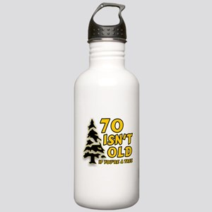 70 isn't old Stainless Water Bottle 1.0L