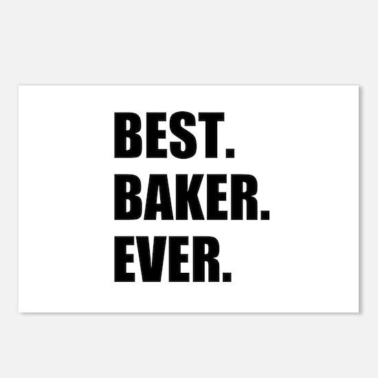 Best Baker Ever Postcards (Package of 8)