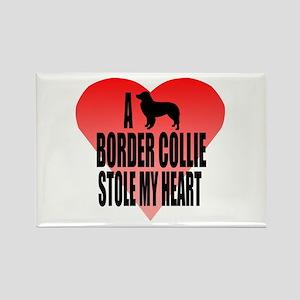 Border Collie Rectangle Magnet