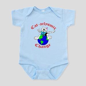 Cat-aclysmic Change Infant Bodysuit