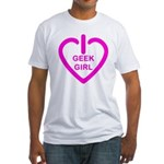 Geek Girl Fitted T-Shirt