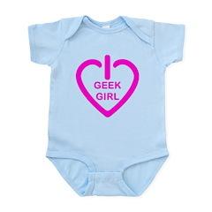 Geek Girl Infant Bodysuit