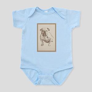 English Bulldog Infant Bodysuit