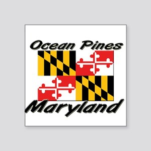 Ocean Pines Maryland Rectangle Sticker