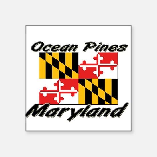 Ocean Pines Maryland Rectangle Sticker