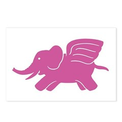 Flying Elephant Postcards (Package of 8)