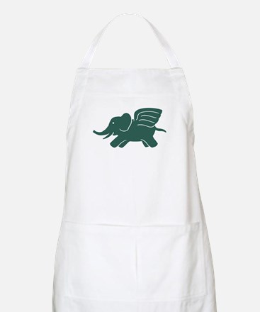 Flying Elephant BBQ Apron