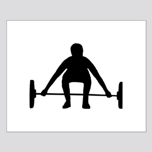 Weightlifting Small Poster