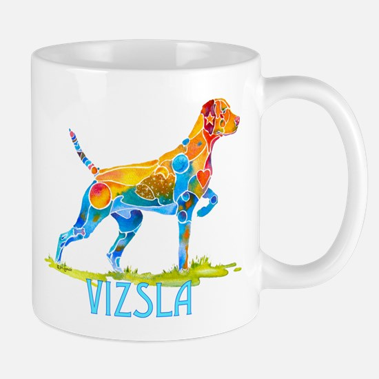 Vizsla on Point Gifts Mug