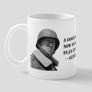 Patton - A Good Plan Mug