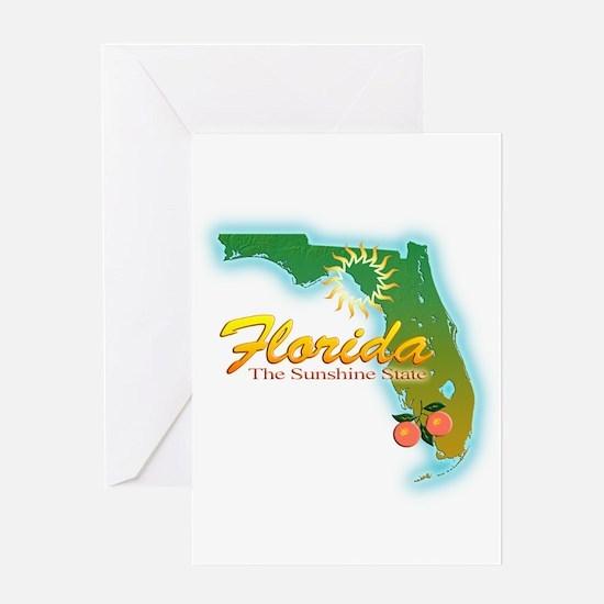 Florida Greeting Card