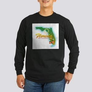 Florida Long Sleeve Dark T-Shirt