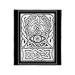 Celtic All-Seeing Eye Throw Blanket