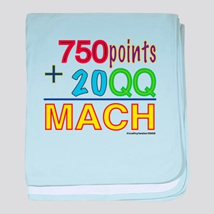 MACH formula baby blanket