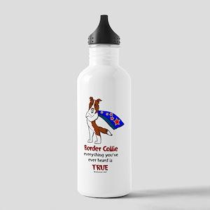 Super Border Collie - everyth Stainless Water Bott