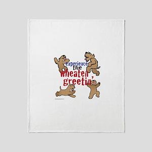Wheaten Greetin' Throw Blanket