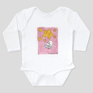 Old English Sheepdog Star Long Sleeve Infant Bodys