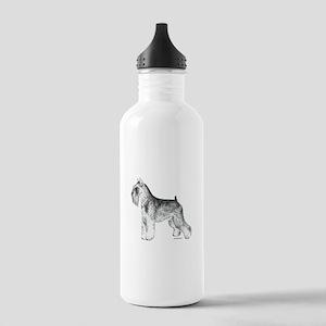 Miniature Schnauzer Stainless Water Bottle 1.0L
