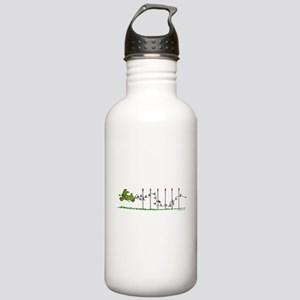 Agility Christmas Lights Stainless Water Bottle 1.