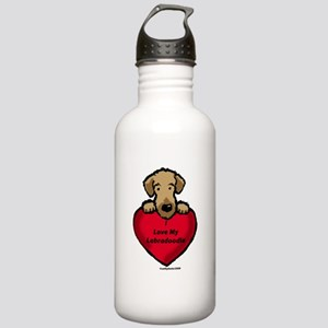 Labradoodle Love!! Stainless Water Bottle 1.0L