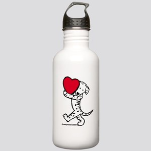 Dalmatian Valentine Stainless Water Bottle 1.0L