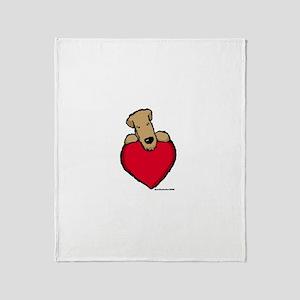 SCWT heart Throw Blanket