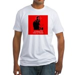 Castro - A Cuban I'd Like to Smoke Fitted T-Shirt