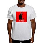 Castro - A Cuban I'd Like to Smoke Ash Grey T-Shir