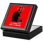 Castro - A Cuban I'd Like to Smoke Keepsake Box