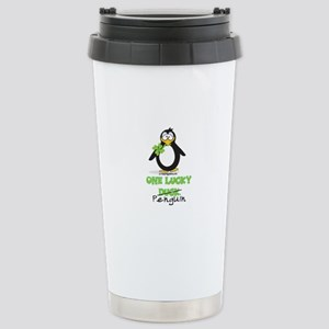 One Lucky Duck Penguin Stainless Steel Travel Mug