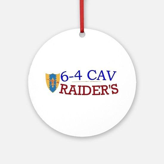 6th Squadron 4th Cavalry Ornament (Round)