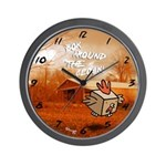 Box Rooster Wall Clock!