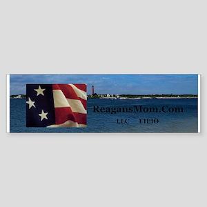 ReagansMom.Com LLC EIEIO Sticker (Bumper)