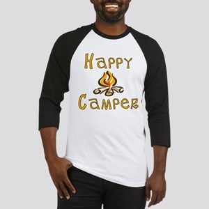 Happy Camper Baseball Jersey