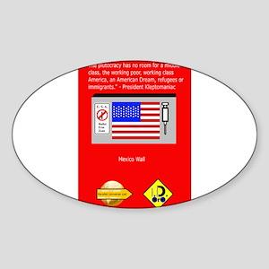 The Plutocracy in America Sticker