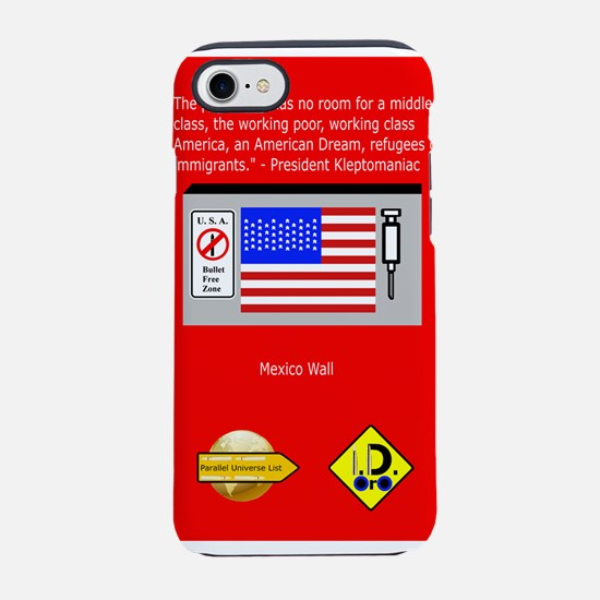 The Plutocracy in America iPhone 7 Tough Case