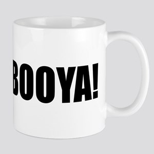 BOOYA! black text Mug