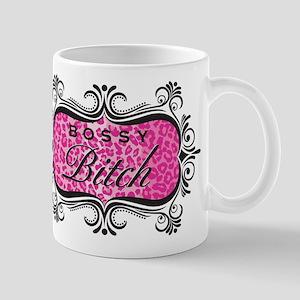 Pink Bossy Bitch Mug