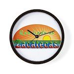 Lindo Zacatecas Wall Clock