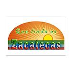 Lindo Zacatecas Mini Poster Print