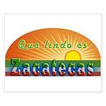 Lindo Zacatecas Small Poster
