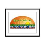 Lindo Zacatecas Framed Panel Print