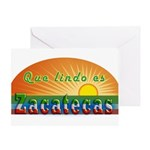 Lindo Zacatecas Greeting Card