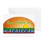 Lindo Zacatecas Greeting Cards (Pk of 10)