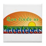Lindo Zacatecas Tile Coaster
